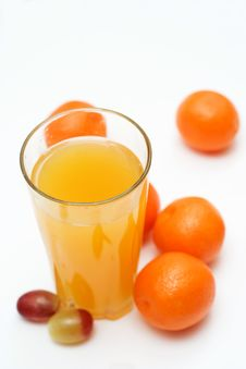 Free Fresh Juice With Fruit Composition. Royalty Free Stock Images - 4288999
