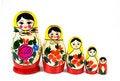 Free Matreshka Family Royalty Free Stock Image - 4296816