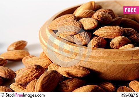 Free Almonds Royalty Free Stock Photo - 4290875
