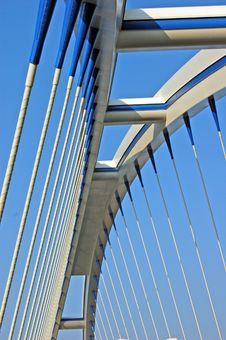 Free Bridge Apollo In Bratislava Royalty Free Stock Images - 4290609