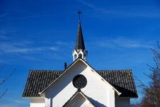 Detail Of A Chapel On Burial-grounds Stock Images
