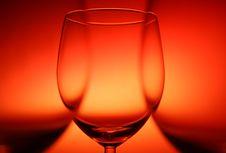 Free Three Empty Glasses Stock Photo - 4292220
