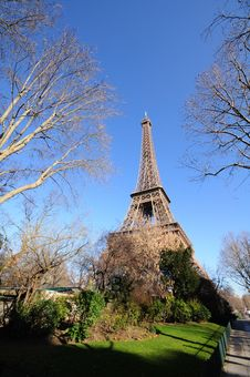 Free The Eiffel Tower Royalty Free Stock Photography - 4293067