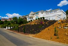 Free Row Of Houses Royalty Free Stock Photography - 4293187