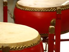 Free Asian Drums Stock Photos - 4293513