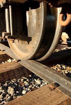 The Iron Wheel Stock Photo