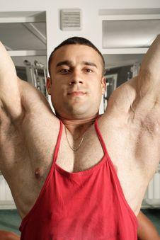 Free Muscular Man Royalty Free Stock Image - 4293866