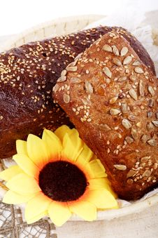 Free Sunflower Bread Stock Photos - 4293913
