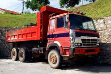 Free Contruction Lorry Royalty Free Stock Image - 4294196