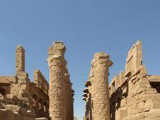 Free Columnar Hall In Karnak Temple Stock Photos - 4294733
