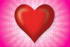Free Red Heart Stock Photography - 4295002