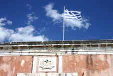 Free Greek Flag Stock Photo - 4295080