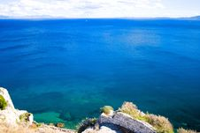 Greek Beautifull Sea Royalty Free Stock Image