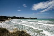Free Corfu Island Beach Stock Photo - 4295180