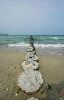 Free Beach At Baltic Sea Stock Photo - 4295220