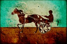 Free Race Horse Royalty Free Stock Photography - 4295287