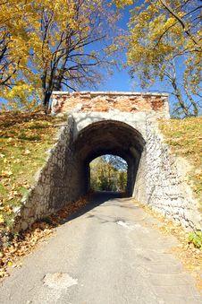 Free Old Brick Bridge Royalty Free Stock Photography - 4295877