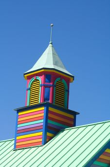 Free Colorful Wooden Tower Stock Image - 4295911