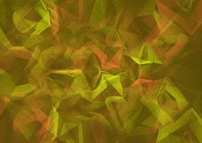 Abstract Grunge Background Of Green And Red Color Stock Image
