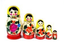 Free Matreshka Family Royalty Free Stock Image - 4296816