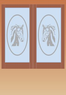 Free Door Works With Wood Stock Photos - 4297353