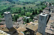 Free San Gimignano - Tuscan Italy Stock Image - 4297621