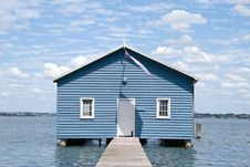 Free Crawley Edge Boatshed Aka. Matilda Bay Boatshed Royalty Free Stock Photo - 4298035
