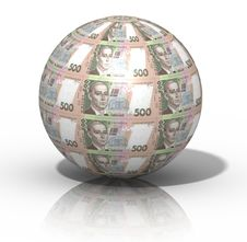 Free Money Globe Royalty Free Stock Photography - 4298077