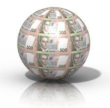 Free Money Globe Royalty Free Stock Photography - 4298077
