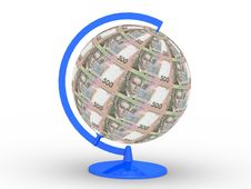 Free Money Globe Royalty Free Stock Photography - 4298147