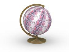 Free Money Globe Stock Photos - 4298243