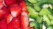 Free Kiwi And Strawberry Salad Stock Photo - 4298510