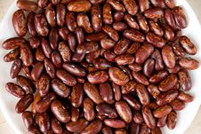 Free Saucer With Kidney Beans Stock Images - 4298574
