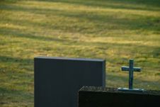 Free Christian Graveyard Royalty Free Stock Photography - 4298637
