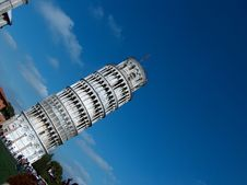 Free Tower Of Pisa Royalty Free Stock Photo - 4298645