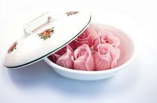 Pink Soap Royalty Free Stock Photos