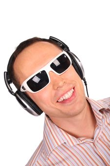 Free Music Man With Sunglasses Royalty Free Stock Photos - 4299208