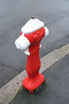 Free Fire Hydrant Rococo Style Stock Photos - 4299393