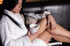 Free Relaxing Coffee Break Royalty Free Stock Photos - 4299618