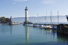 Free Lindau Harbour 1 Stock Photos - 4299673