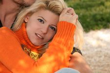 Free Blonde Young Woman Royalty Free Stock Images - 4299709