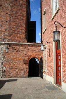 Free Yard  In Wawel Castle. Krakow. Poland. Stock Images - 4299804