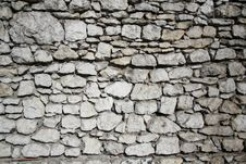 Wall From The Stones. Background, Texture Stock Photography