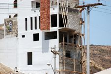 Free New Home Constuction In Mexico Stock Images - 4299934