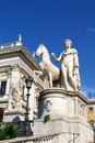 Free Statue Of Pollux And Horse Stock Photography - 437992