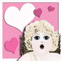 Free Pop Art -Valentine Cherub Royalty Free Stock Image - 439696