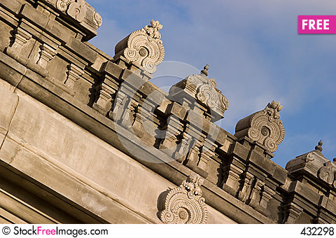 Free Indian Temple _3 Royalty Free Stock Photos - 432298