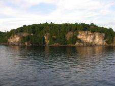 Free Island Of Rock. Royalty Free Stock Photos - 430628