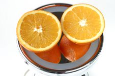 Free Naval Orange Reflection Design. Royalty Free Stock Photos - 430658