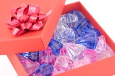Free Boxed Jewels Stock Image - 431601